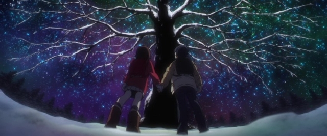 Erased Episode 3 Birthmark Christmas Tree