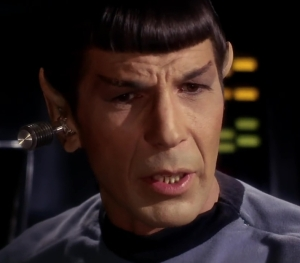 Star Trek Man Trap Spock