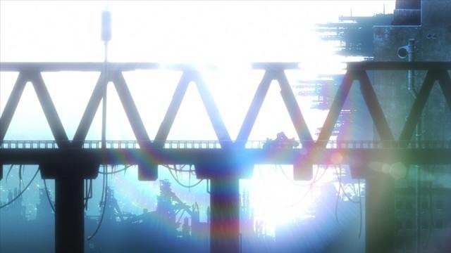Girls' Last Tour lanscape bridge