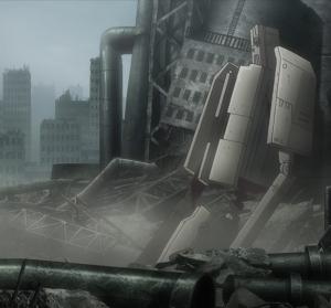 Girls Last Tour Episode 11 mecha giant robot
