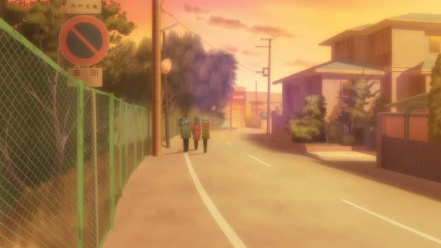 The Disappearance of Nagato Yuki Chan sunset