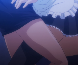 Golden Time Fanservice Banri and Linda