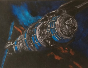 Babylon 5 Artwork by Katie Marriott