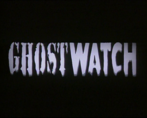 Ghostwatch logo opening titles