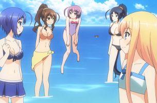 Invaders of the Rokujouma!? beach