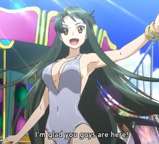 Nagato Yuki-Chan OVA Tsuruya at the pool