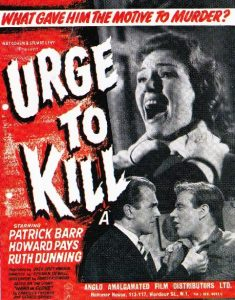 Edgar Wallace Urge to Kill