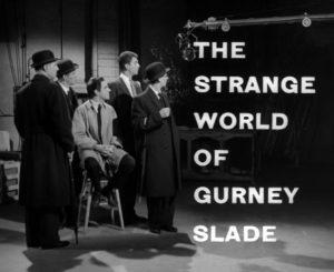 The Strange World of Gurney Slade Episode Six Titles