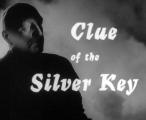 Edgar Wallace Clue of the Silver Key