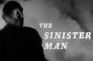 Edgar Wallace Sinister Man