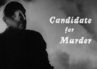 Edgar Wallace Candidate for Murder