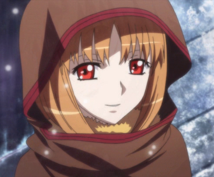 Spice and Wolf Season 2 Finale Holo in the snow