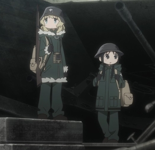Girls Last Tour Episode 10 Chi and Yuu