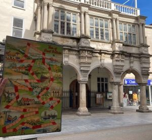 Board Game Tour Exeter Guildhall